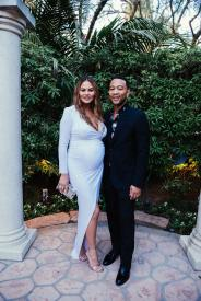 Chrissy Tiegen and John Legend (Hannah Turner-Harts)