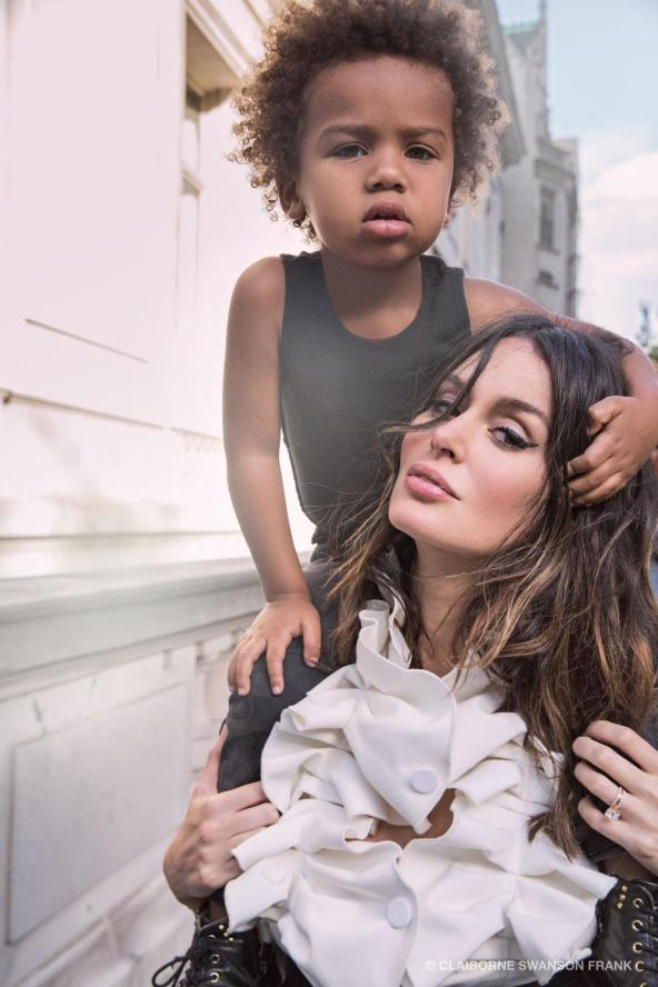 Nicole Trunfio with her son Zion (Claiborne Swanson Frank)