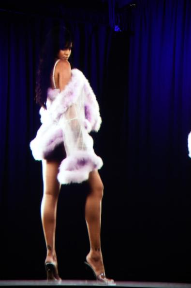 A hologram of Rihanna (Getty Images)