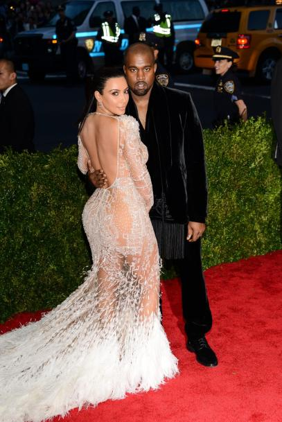 Kim Kardashian and Kanye West (Shutterstock)