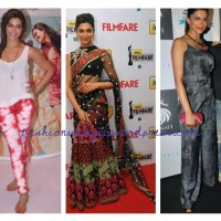Bollywood Fashion Update: Actress Deepika Padukone's Style Tour Begins