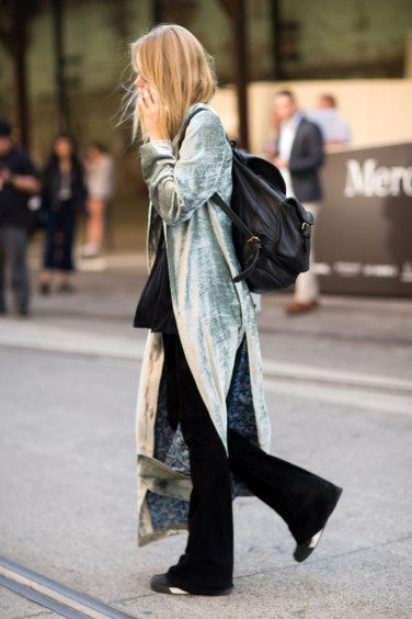Street style at Australia Fashion Week 2016