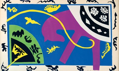 Henri Matisse: The Horse, the Rider and the Clown (1947).