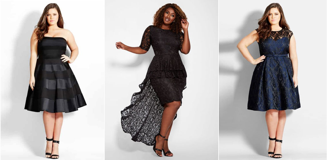 5 Trending Party Dresses for Plus Size Women
