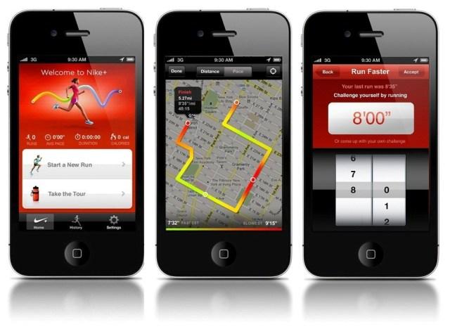 Nike+Running app