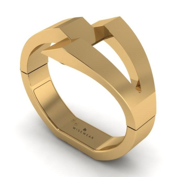 WiseWear Gold Calder Wearable Bracelet