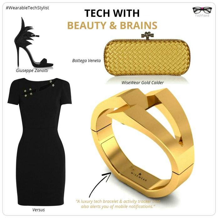 WiseWear luxury tech bracelet