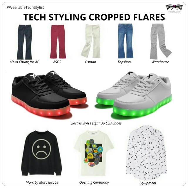 TECH STYLING CROPPED FLARES- FashNerd