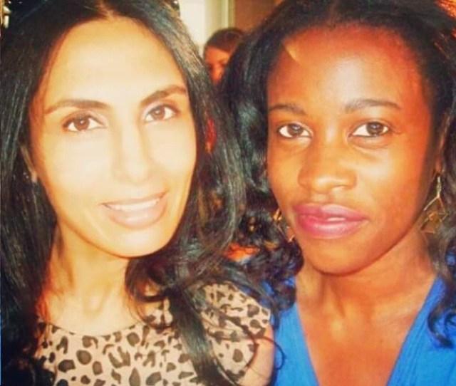 Muchaneta Kapfunde with Accessory Designer Sunita Mukhi