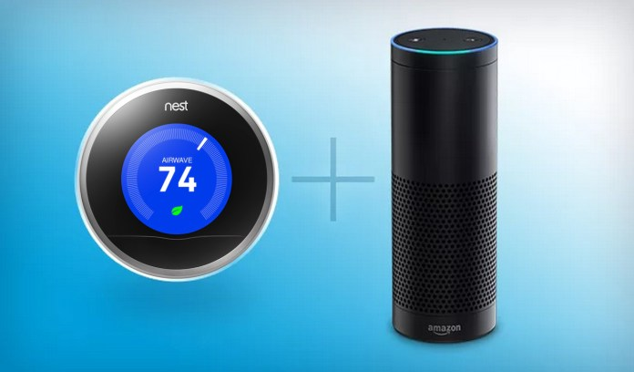 Nest Learning Thermostat is Dating Amazon Echo