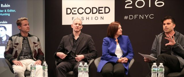 Avery Dennison RBIS Discusses How Technology Revolutionizes the Consumer Experience at DECODED Fashion New York Summit 2016`