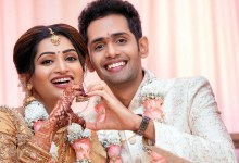 Nakshathra Nagesh Engagement Photos