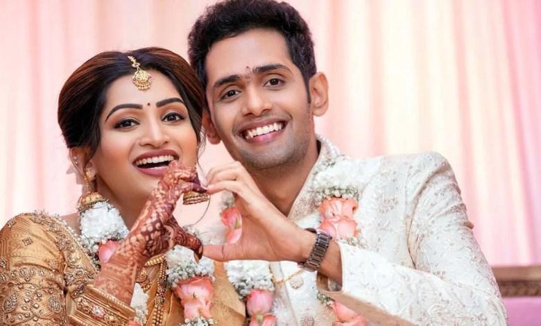 Nakshathra Nagesh Engagement Photos