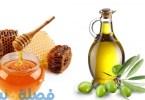 زيت الزيتون والعسل لتطويل الشعر