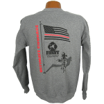 """Red Line Series"" – Shadow Crewneck Sweatshirt"