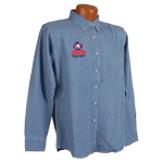 Denim Shirt Mens Longsleeve