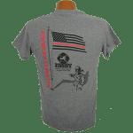 """Red Line Series"" – Shadow Tee Shirt"