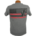 """Red Line Series"" – Full Flag Tee Shirt"