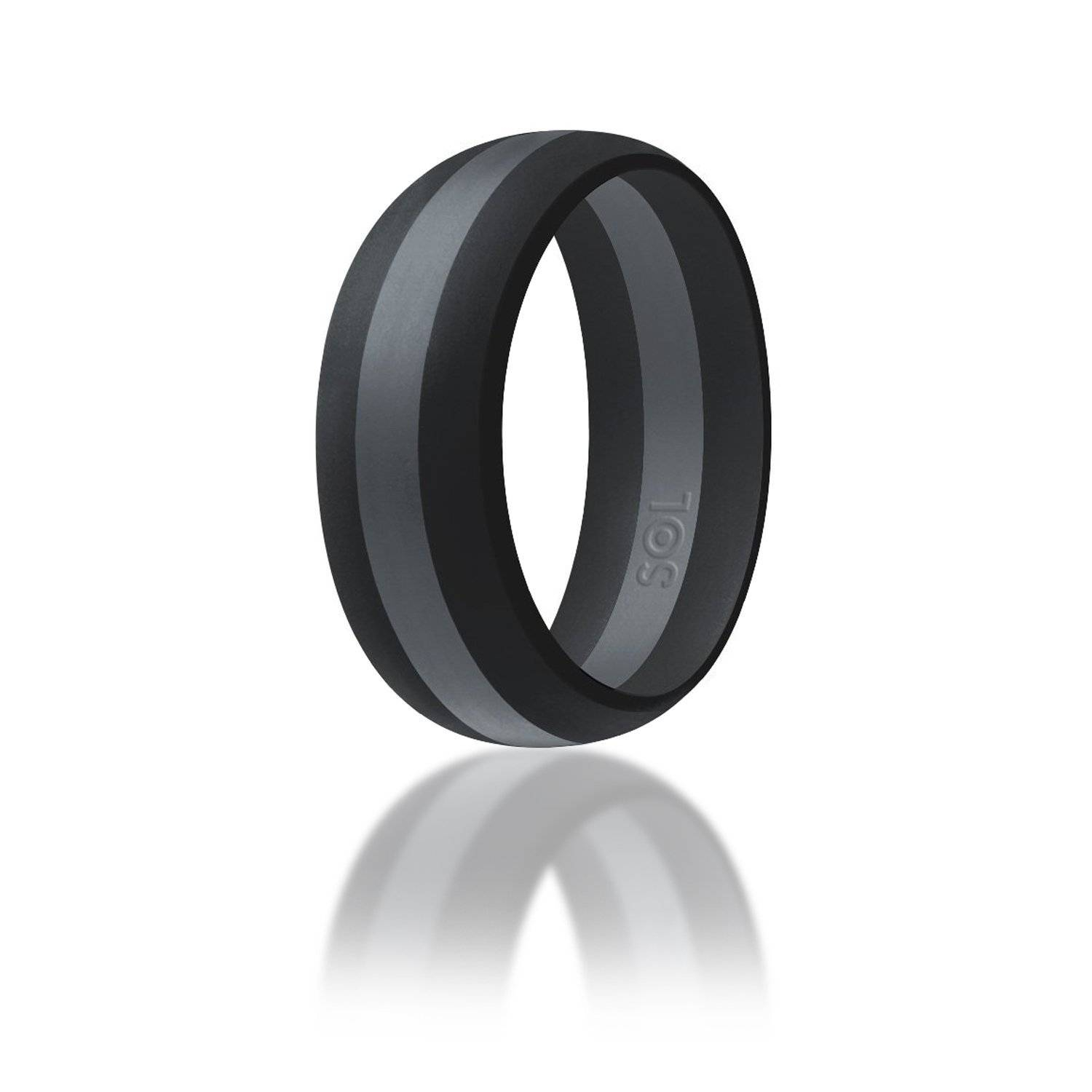 15 Best Collection Of Rubber Bands Wedding Bands