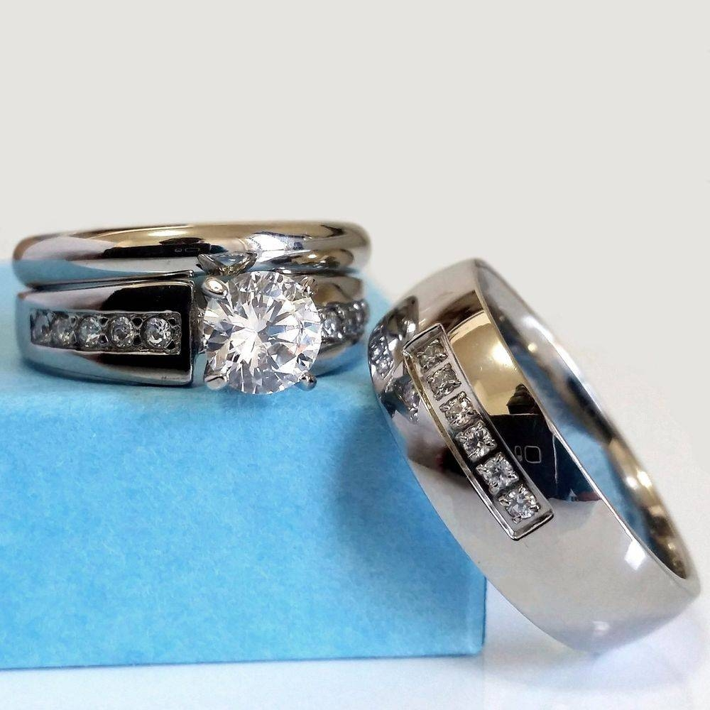 15 Inspirations Of Stainless Steel Wedding Bands For Her