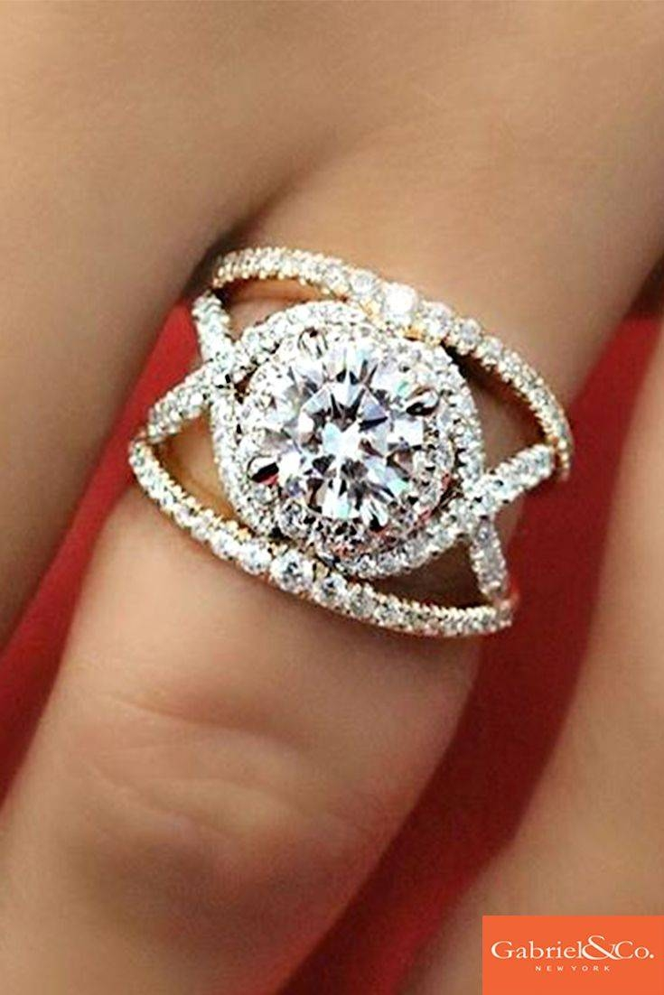 2018 Popular Engagement Rings And Wedding Bands In One