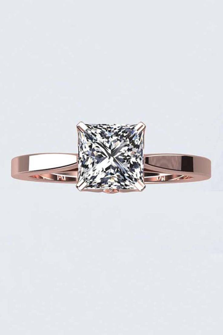 2018 Popular Wedding Bands To Go With Princess Cut