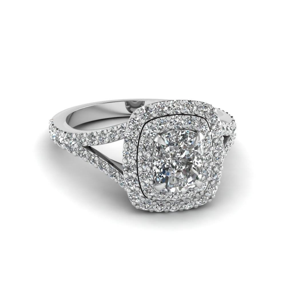 15 Best Ideas Of Round Cushion Cut Diamond Engagement Rings