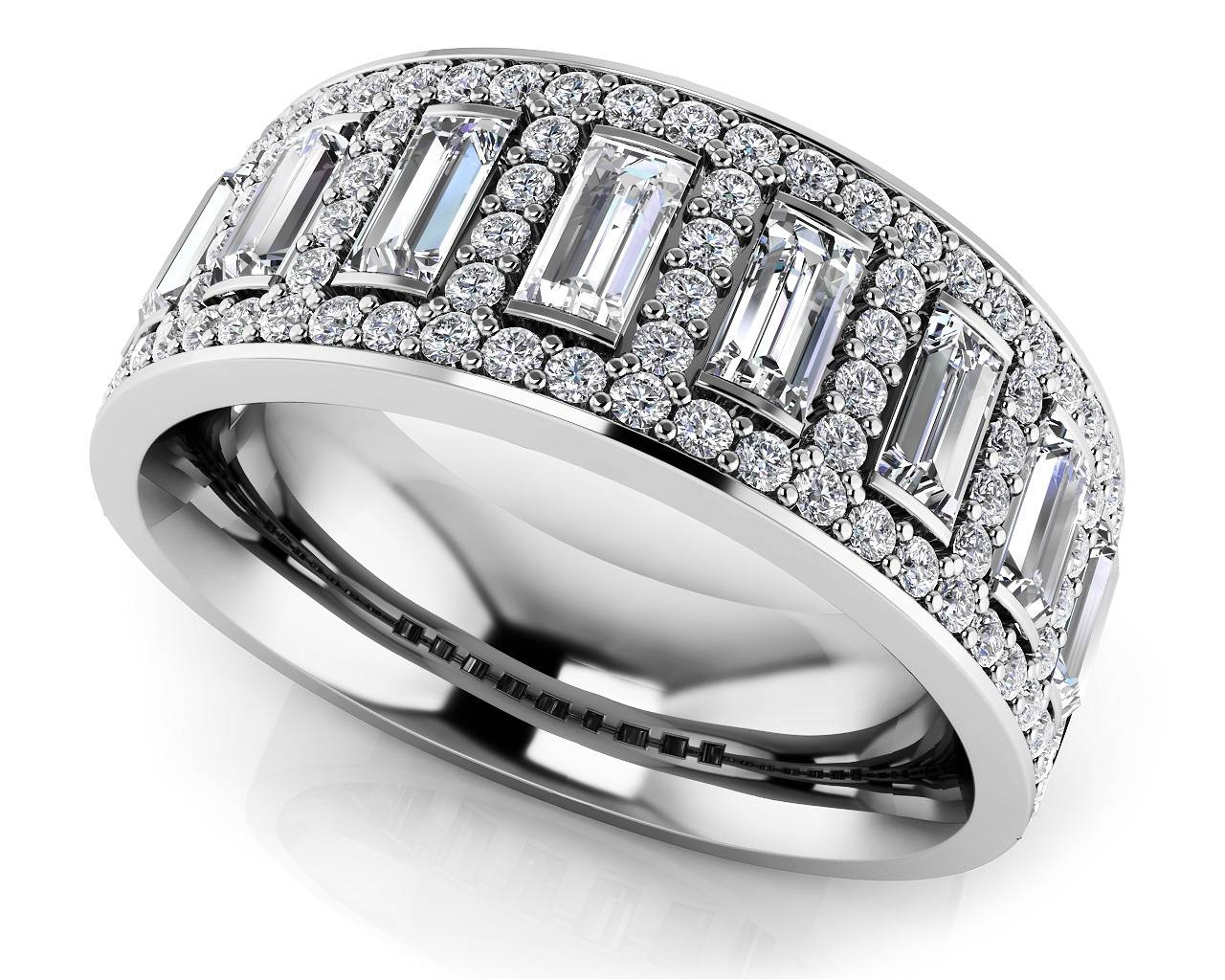 25 Photo Of Wide Band Anniversary Rings