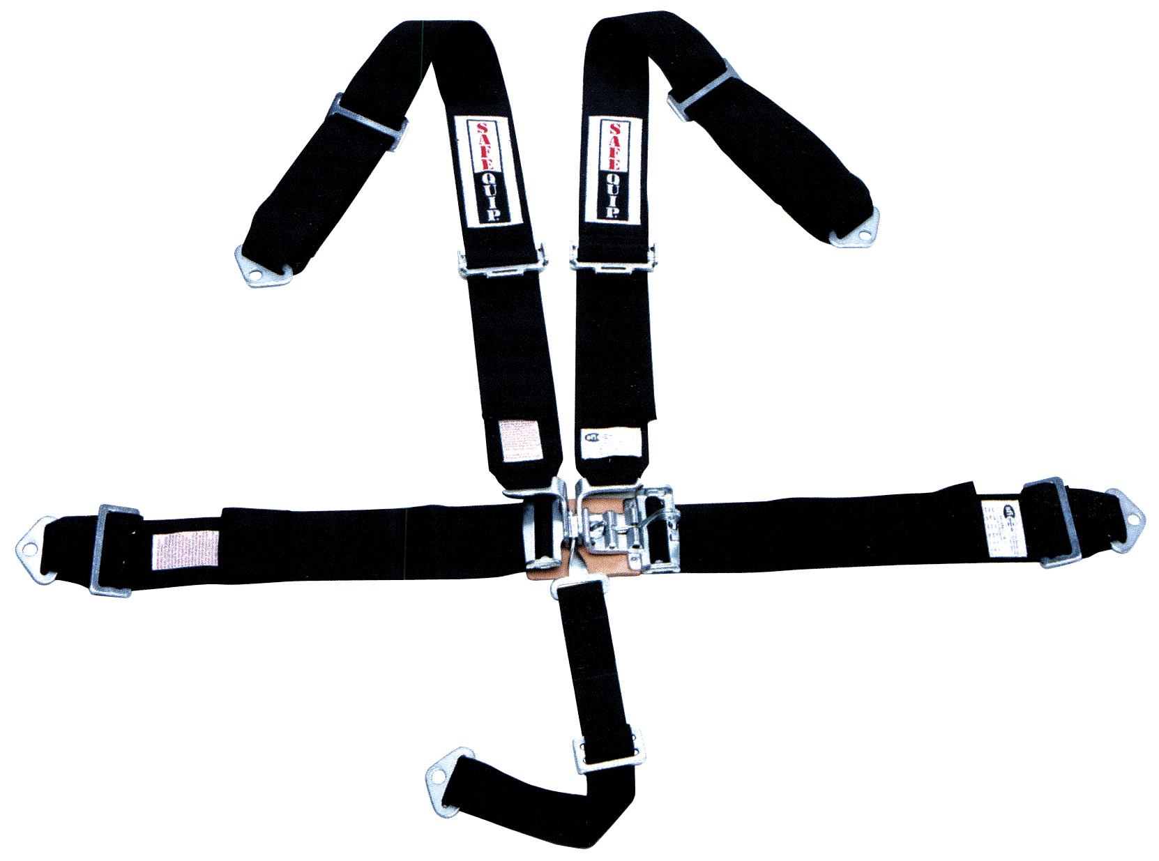 5 Pt Latch Amp Link Harness Assy Black