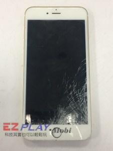 iPhone 6 plus 玻璃破裂的真相 地震?床震? 怎麼睡醒螢幕破裂還不顯示iPhone手機維修