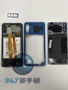 摔機的SAMSUNG A7 2018滑落地板後再也看不到光明 三星手機維修