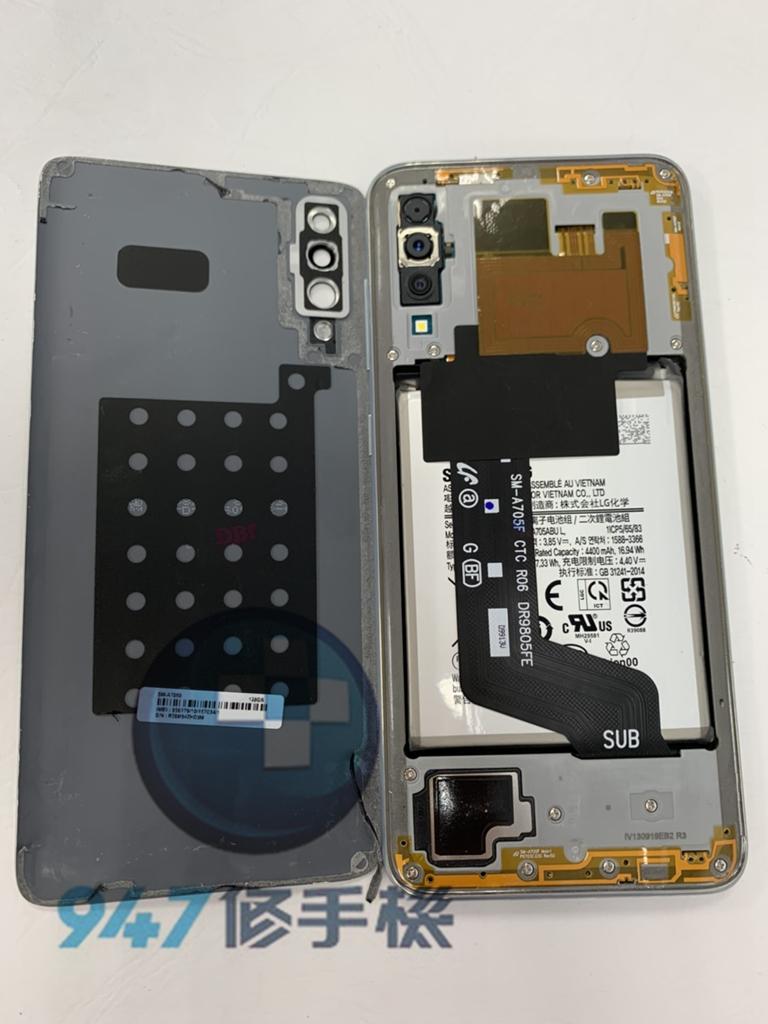 A70手機維修-面板維修-電池更換02