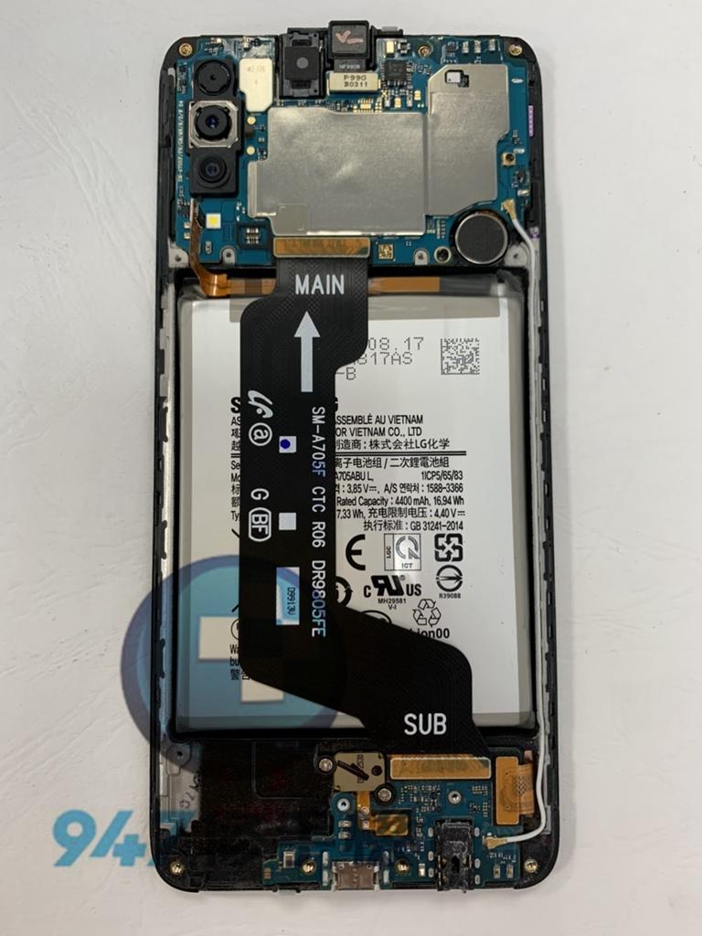 A70手機維修-面板維修-電池更換03