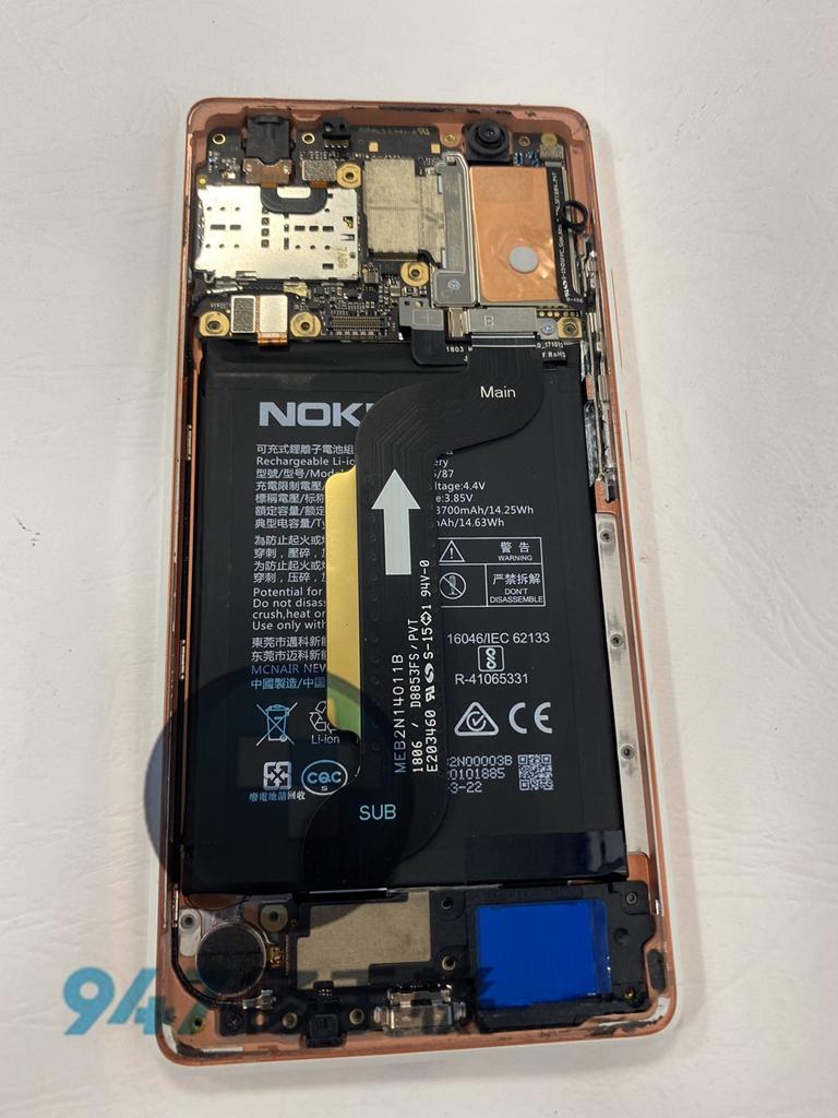 NOKIA 7+手機維修_面板更換_電池更換04