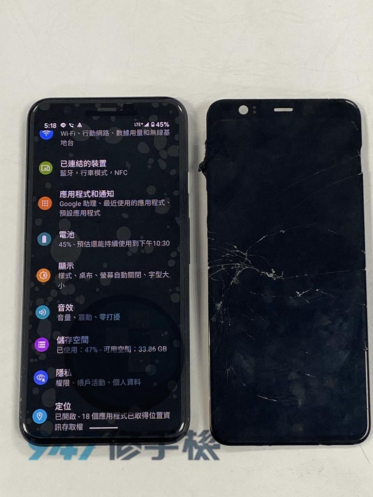 pixel 4手機維修_電池更換_面板更換05