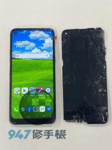 摔裂的LG K61手機維修實錄快來看看!! LG 手機維修