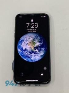 前破後裂的iphoen 11 螢幕面板 後背蓋玻璃破光光!! Iphone手機維修