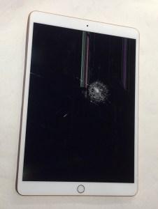 防彈平板!?這台AIR3螢幕破裂看起來不單純!IPAD平板維修