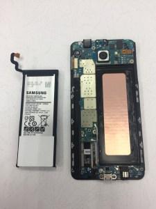 NOTE5一直自動關機好討厭,原來是電池老化了 三星手機維修