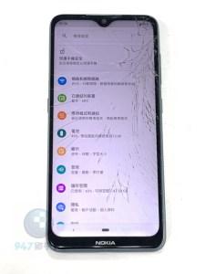 面板破裂的NOKIA 7.2 其實修理速度可以很快的!! NOKIA手機維修