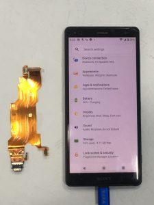 又是一台XZ2不充電,趕快來更換充電孔尾插排線吧!SONY手機維修
