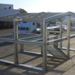 estructura metálica pre ensamblada