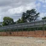 estructura para galera avícola