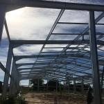 estructura metálica para galeras o galpones