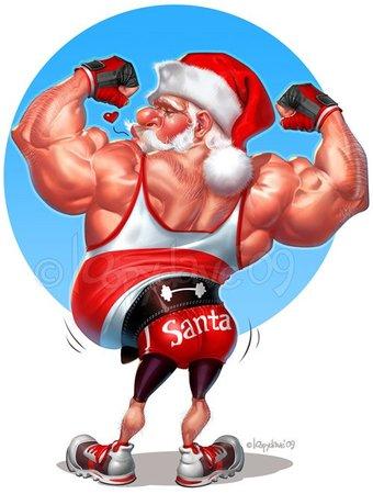 Image result for gangster santa claus