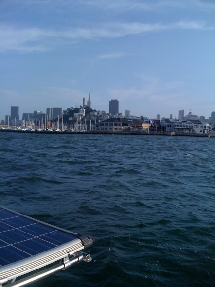 San Francisco to starboard