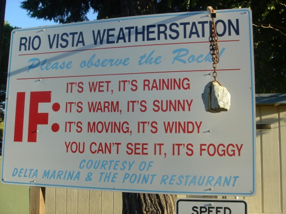 Rio Vista's weather station