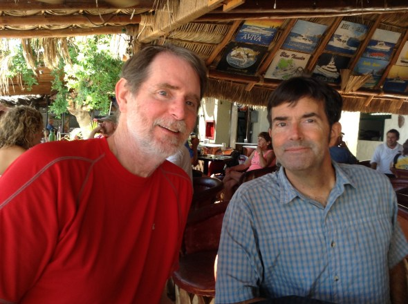 Gary and Ken - my expert crew