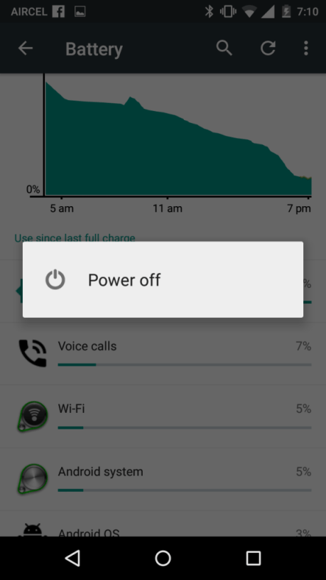 Fix Over heating problem in Moto X Android mobile Phone
