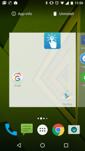 Uninstall delete app in Android